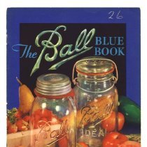 Image of Booklet - Ball Blue Book of Canning and Preserving Recipes