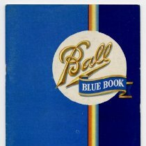 Image of Booklet - Ball Blue Book of Home Canning, Preserving and Freezing