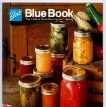 Image of Booklet - Ball Blue Book:  The Guide to Home Canning and Freezing