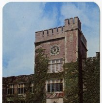 Image of Postcard - The Library, Ball State Teachers College, Muncie, Indiana.