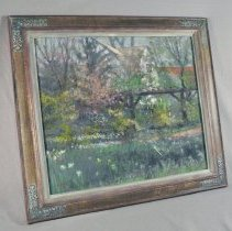 Image of Painting - Spring Profusion Oakhurst Garden
