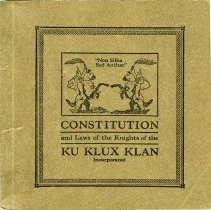 Image of KKK constitution