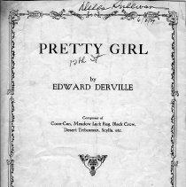 Image of Pretty Girl Sheet music