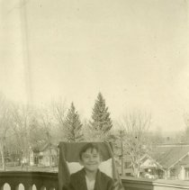 Image of Patient on balcony