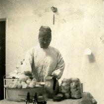 Image of Peeling potatoes