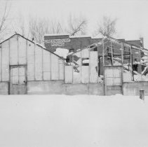 Image of 1913 Snow Storm 3rd and Kimbark - Negative, Sheet Film