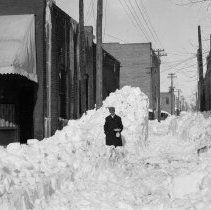 Image of 1913 Snowstorm - Negative, Sheet Film
