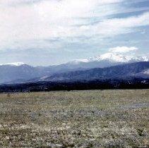 Image of Long's Peak and Mt. Meeker - Transparency, Slide