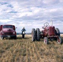 Image of Abe Gettman Planting Wheat
