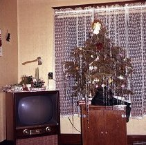Image of Gettman Christmas Tree 1957 - Transparency, Slide