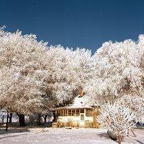 Image of Frost Scenes - Gettman Farm - Transparency, Slide