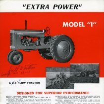 Image of Gibson Tractor Brochure (page 2)