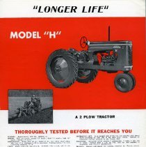 Image of Gibson Tractor Brochure (page 3)