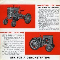 Image of Gibson Tractor Brochure (page 4)
