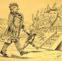 Image of Colorado's World Beaters cartoon