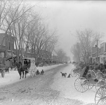 Image of Main Street with snow
