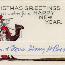 Image of Christmas Card from Harry Bohman