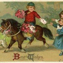 Image of Valentine postcard