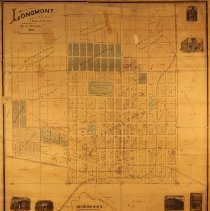 Image of 1894 map of Longmont