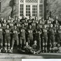 Image of 1940 Longmont State Football Co-Champions - Print, Photographic