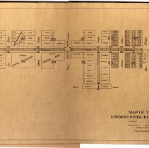 Image of Map of Longmont Paving District No 3