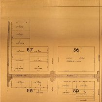 Image of Map of paving district along Fourth Avenue