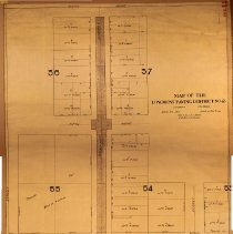 Image of Map of Longmont Paving Sistrict No. 2.
