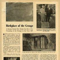 Image of Longs Peak Grange scrapbook