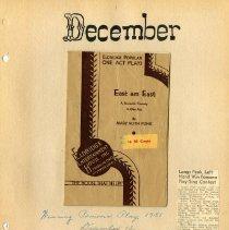 Image of Longs Peak Grange scrapbook p.  15