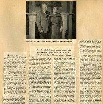 Image of Longs Peak Grange scrapbook p 2