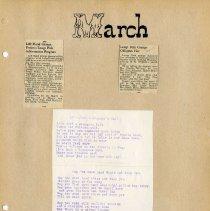 Image of Longs Peak Grange scrapbook p.  5