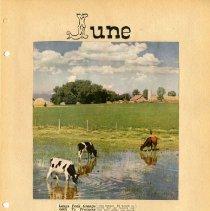 Image of Longs Peak Grange scrapbook p.  8