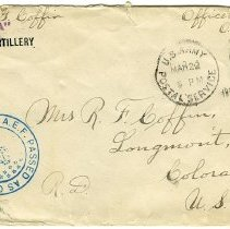 Image of World War I envelope