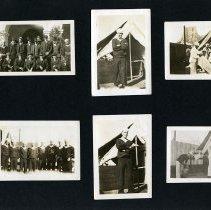 Image of Raymond White WW I Album, Page 005
