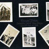Image of Raymond White WW I Album, Page 006