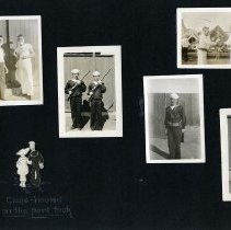 Image of Raymond White WW I Album, Page 008
