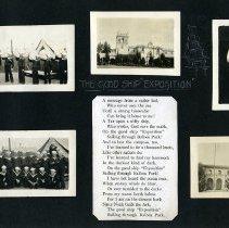 Image of Raymond White WW I Album, Page 009