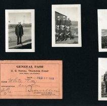 Image of Raymond White WW I Album, page 012