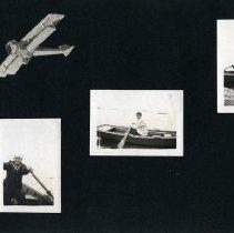 Image of Raymond White WW I Album, page 013