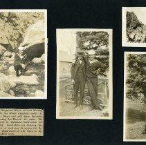 Image of Raymond White WW I Album, page 014