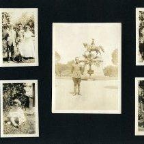 Image of Raymond White WW I Album, page 017