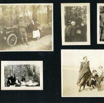 Image of Raymond White WW I Album, page 018
