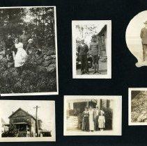Image of Raymond White WW I Album, page 020
