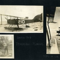 Image of Raymond White WW I Album, page 023