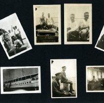 Image of Raymond White WW I Album, page 025