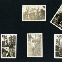 Image of Raymond White WW I Album, page 026