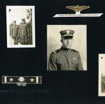 Image of Raymond White WW I Album, page 028