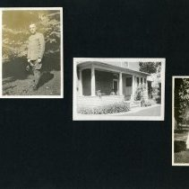 Image of Raymond White WW I Album, page 057