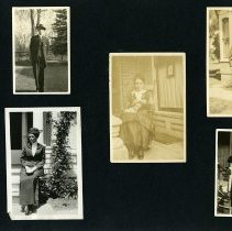 Image of Raymond White WW I Album, Page 003