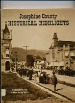 Image of Book - Josephine County historical highlights